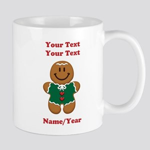 Personalize Gingerbread Baby [elf] Mug